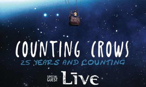 COUNTING CROWS WITH SPECIAL GUEST +LIVE+: 25 YEARS AND COUNTING